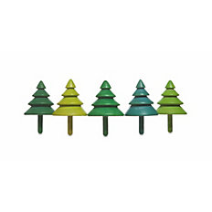 Kreisel Tree Tops, 5er-Set